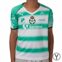 Youth Puma Santos 2016/2017 Home Jersey