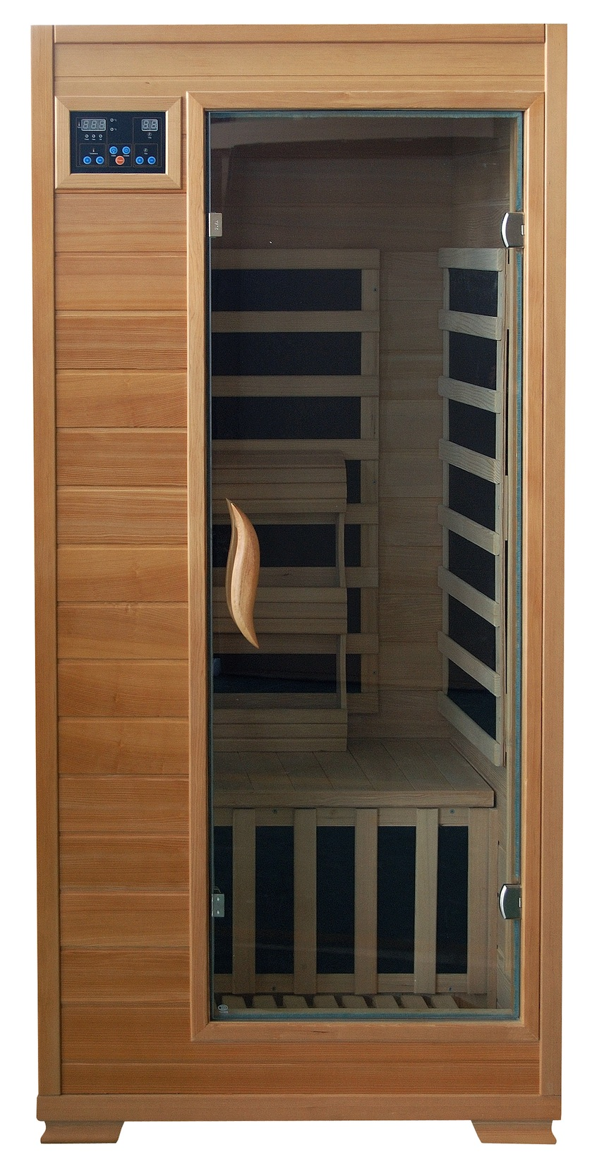 Infrared Sauna With Salt Wall In Nh Hotel Zandvoort The: 1 Person Far Infrared Sauna With Carbon Heaters