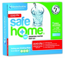 Safe Home� �LEAD� Water Test Kit