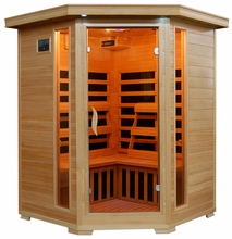 3 Person Far Infrared Sauna With Carbon Heaters