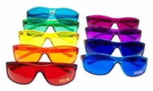 Color Therapy Glasses Set - Pro Style