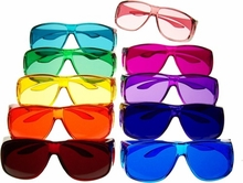 Color Therapy Glasses Set - Fit Over Existing Glasses
