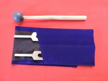 High Ohm Tuning Fork Kit 272.2 Hz & 544.4 Hz