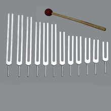 Kabbalah Tree Of Life Tuning Forks - Set of 12