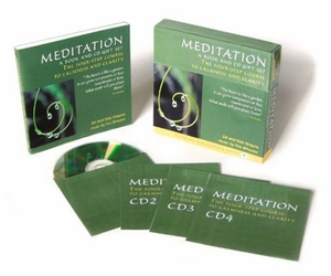 Meditation: A Book and CD Gift Set: The Four-Step Course To Calmness and Clarity