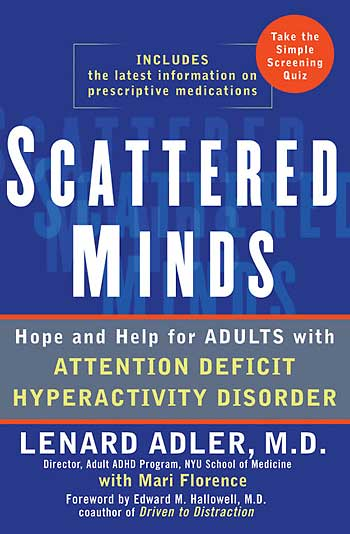 Adult attention deficit disorder self help
