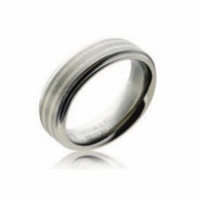 Shuzi EMF Protection Titanium Stripe Ring