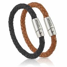 Shuzi Leather EMF Band