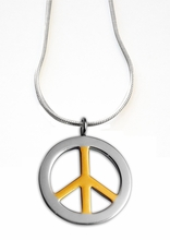 Shuzi Peace Sign EMF Pendant