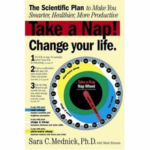 Take a Nap! Change Your Life Book