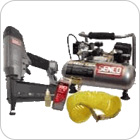 Air Compressor & Nailer Combo Sets