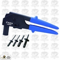 Astro Pneumatic 1445 90° Hand Riveter - Comes with 40pc Plastic Rivets