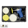 Astro Pneumatic 3055 Mini Air Polishing Kit with Pads & Case