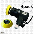 "Astro Pneumatic 321 4pk Onyx 2"" Random Orbit Sander - Velcro - 3Mm Orbit"