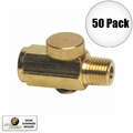 "Astro Pneumatic 5706 Air Valve Pressure ""Cheater"" Valve Brass 50pk"