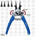 Astro Pneumatic 9421 Snap Ring Pliers Internal External plus Multi-Angle