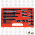 Astro Pneumatic 9447 25pc. Screw Extractor/Drill & Guide Set