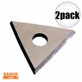 "Bahco 449 2pk 1"" Replacement Triangle Blade"