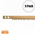 "Bahco 51-36 5pk 36"" Peg Tooth Bow Saw Blade"