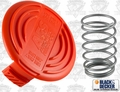 Black & Decker 385022-03 Spool Cover + Spool Spring Kit