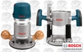 Bosch 1617EVSPK Combination Plunge & Fixed-Base Router Pack