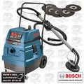 Bosch 3931A-PBH HEPA Wet/Dry Vac Cleaner + P-C 7800 Drywall Sander Kit