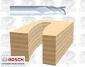Bosch 85911MC Solid Carbide Upspiral Straight Bit