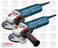 "Bosch AG40-85P 4-1/2"" Angle Grinder No-Lock-on Paddle Switch 2-pk"