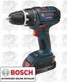 Bosch DDS181-02 Lithium-Ion Compact Tough Drill Driver