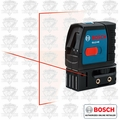 Bosch GLL2-40 Self-Leveling Cross-Line Laser