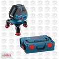 Bosch GLL3-50 Three Line Laser with Layout Beam w/ FREE L-Boxx