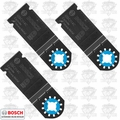 "Bosch OSC114C-3 1-1/4"" Multi-Tool Carbide Tooth Plunge Cut Blades"