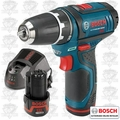 "Bosch PS31-2A Max Cordless Litheon 3/8"" Drill/Driver"