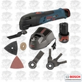 Bosch PS50-2B 12v Max Multi-X Carpenter Kit