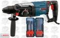 Bosch RH228VC SDS-Plus Rotary Hammer w/ 6 Piece Accessory Kit