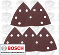 Bosch SDTR040 40 Grit Triangle Hook & Loop Sanding Sheets