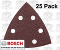 Bosch SDTR042 40 Grit Triangle Hook & Loop Sanding Sheets