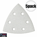 Bosch SDTW040 40 Grit Triangle Hook & Loop Sanding Sheets