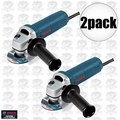 "Bosch Tools 1375A 2pk 4-1/2"" Slim Angle Grinder"