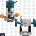 Bosch Tools 1617EVSPK 2.25 HP Combination Plunge & Fixed-Base Router Pack O-B