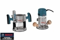 Bosch Tools 1617EVSPK Combination Plunge & Fixed-Base Router Pack