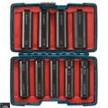Bosch Tools 27286 9-Piece 1/2 in. Deep Well Socket Set