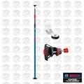 Bosch Tools BP350 Telescoping Pole with 1/4'' by 20'' laser Mount