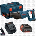 Bosch Tools CRS180BL-B1 1x 18 Volt Reciprocating Saw n with L-Boxx-2 Kit