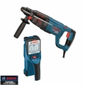 Bosch Tools D-TECT150 SDS-Plus BULLDOG Rotary Hammer + Wall/Floor Scanner
