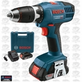 Bosch Tools DDB180-02 18v Compact Tough Cordless 2x Lithium-Ion BATT DDriver