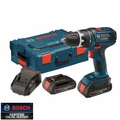 Bosch Tools DDS181-02L 18V Lithium-Ion Compact Tough Drill Driver + L-Boxx-2