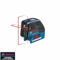 Bosch Tools GCL25 5-Point Self Leveling Alignment Cross-Line Laser
