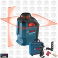 Bosch Tools GLL 2-20 360 Degree Self-Leveling Line and Cross Laser