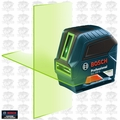 Bosch Tools GLL100G Self-Leveling Green-Beam Cross-Line Laser O-B